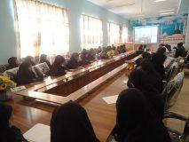 اولین ویدیو کنفرانس مشاوره ای کنکور برای دانش آموزان پایه دوازدهم رشته علوم تجربی منطقه نوک آباد