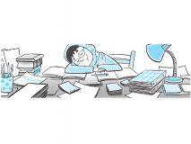 افزایش یادگیری در روزهای پر استرس